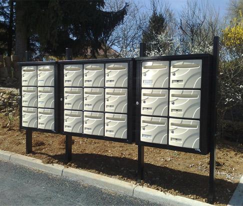 Spécialiste boîtes aux lettres pour habitat collectif